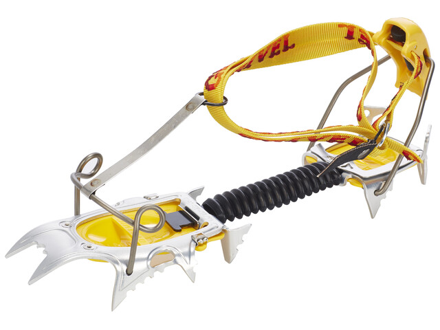 Grivel Air Tech Light COM - Crampones - amarillo/gris